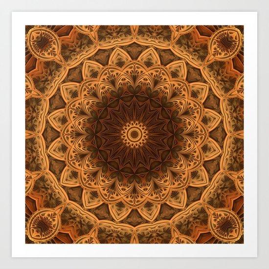 Symmetry Rules! Art Print