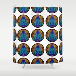 Varietile 50b (Circular) (Repeating 1) Shower Curtain