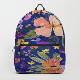 Flowers Paint Backpack
