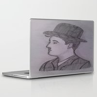 chaplin Laptop & iPad Skins featuring Charlie Chaplin by Natasha Lake