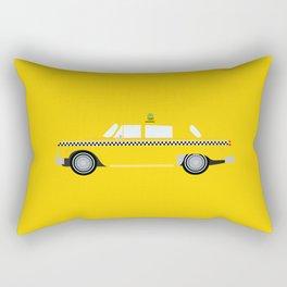 New York Yellow Taxi Rectangular Pillow