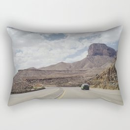 Road Trip Out West Rectangular Pillow