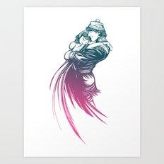 Frozen Fantasy 2 Art Print