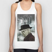chemistry Tank Tops featuring Chemistry by ktubalcain