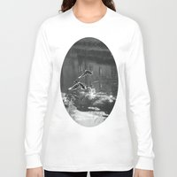ducks Long Sleeve T-shirts featuring Ducks by Rose Etiennette