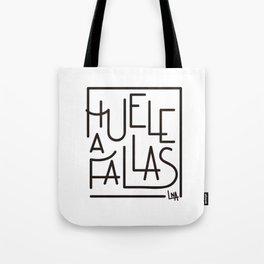 Huele a fallas Tote Bag