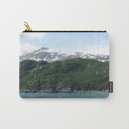 Contrasting Mountains Carry-All Pouch