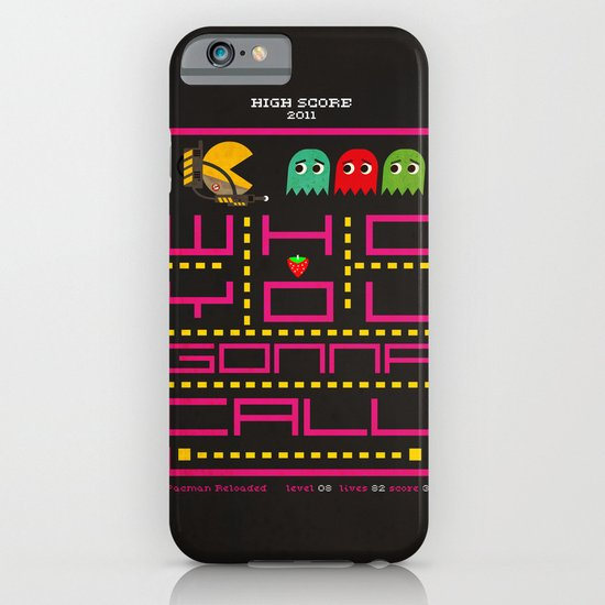 pacman ghostbuster iPhone & iPod Case