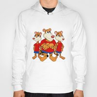tigers Hoodies featuring Tigers cartoon by MaxiHarmony