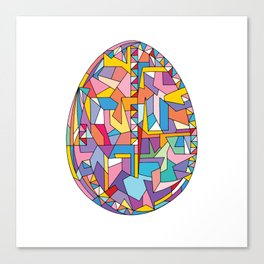 Happy Easter Egg Canvas Print