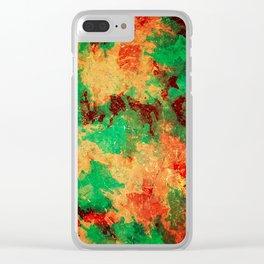 Australia Paints Clear iPhone Case