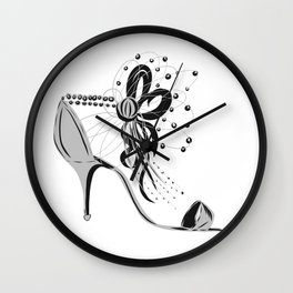 The right fit Wall Clock