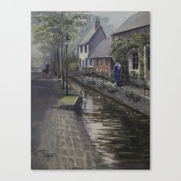 Morning in Saint-Saëns Canvas Print