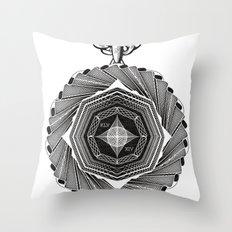 Spirobling VIII Throw Pillow