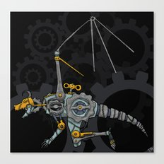 Clockwork Dragon Canvas Print