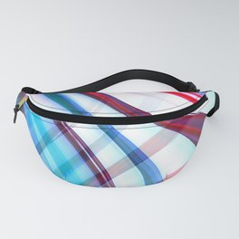 Candy Abstract Fanny Pack