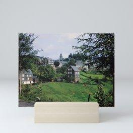 Nordenau im Sauerland, 1958 Mini Art Print