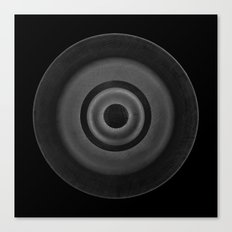 Demi-Stock Black Piece 1 Canvas Print