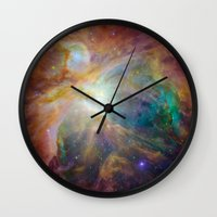 justice Wall Clocks featuring Justice by Ignacio´s