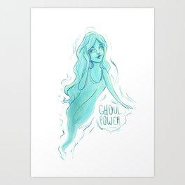 Ghoul Power Art Print
