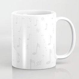 Classical Music Background Coffee Mug