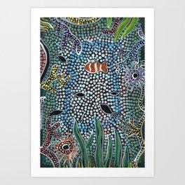 The Reef - Abundance Art Print