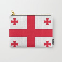 Flag of georgia-Georgia,Sakartvelo, Causasus,georgeian,საქართველო ,Tbilisi,causasus,Georgian,ქართული Carry-All Pouch