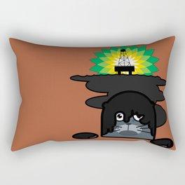 BP Oil Attack Rectangular Pillow