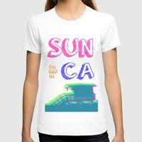 santa monica T-shirts featuring SUNta moniCA by ARTITECTURE