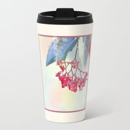 HANGING PINK BEGONIA Travel Mug