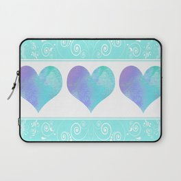 Design of Hearts Laptop Sleeve