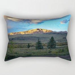 Frosted Bristol Head Peak Rectangular Pillow