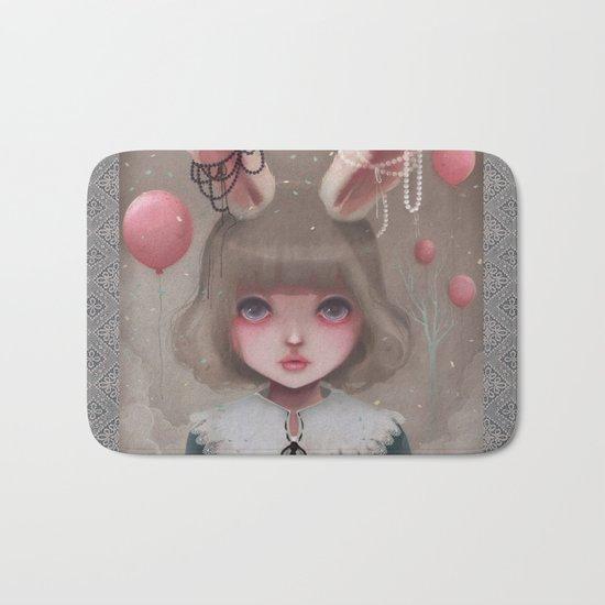 Juliette, balloons & pearls... Bath Mat