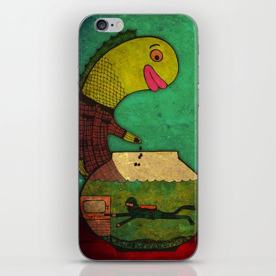 one lost soul iPhone & iPod Skin