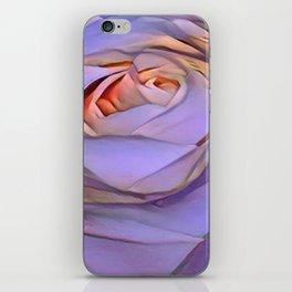 Violet rose iPhone Skin