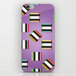 Glitch Allsorts iPhone Skin
