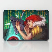 transistor iPad Cases featuring Don't Let Me Go by RowenaY