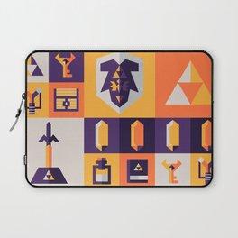 Legend of Zelda Items Laptop Sleeve