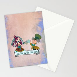 family tea time Stationery Cards