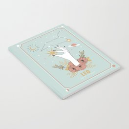 Leo Zodiac Series Notebook