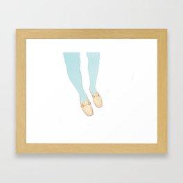 Jitterbug Framed Art Print
