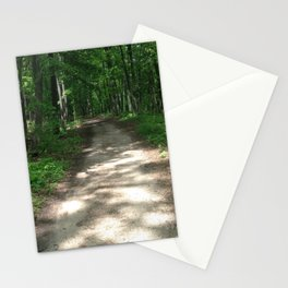 Path to the Sylvan Village Stationery Cards