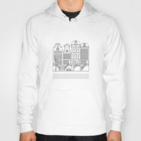 amsterdam Hoodies featuring AMSTERDAM by Anna Lindner