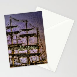 "Tall Ship ""Mircea"" Stationery Cards"