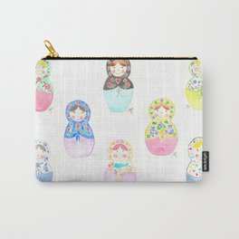 Nesting Dolls Carry-All Pouch