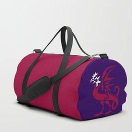 Myths & monsters: basilisk Duffle Bag
