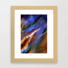The Color of Wind Digital Painting Framed Art Print