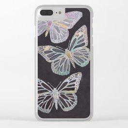 Papillon Conversion Clear iPhone Case