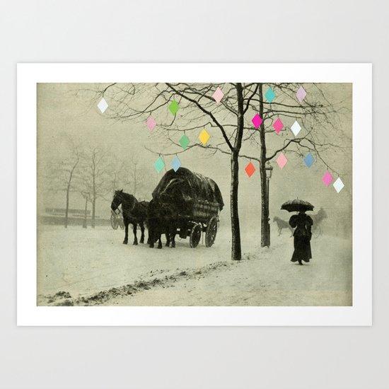 Christmas Day Art Print