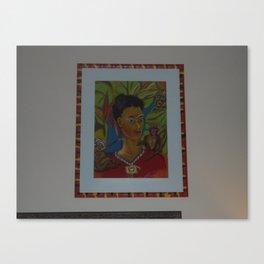 MO'Skahlo Canvas Print